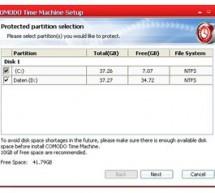 Windows için zaman makinası