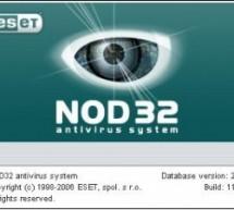 NOD32 Antivirüs Programı Full